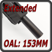 extended to 153MM OAL